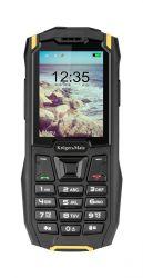 Kruger & Matz IRON 2 Dual SIM IP68 32 Mb fekete-sárga strapabíró mobiltelefon