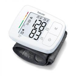 Beurer BC 21 fehér beszélő automata csuklós vérnyomásmérő