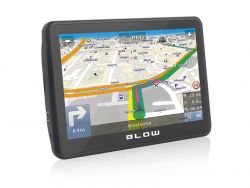 """Blow GPS70V 17,8 cm (7"""") TFT Rögzíthető Érintőképernyős Fekete navigátor"""