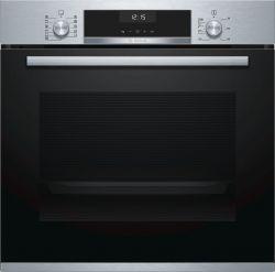 Bosch Serie 6 HBA5570S0 71 L A Fekete, Rozsdamentes acél Elektromos sütő