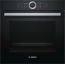 Bosch Serie 8 HBG633NB1 71 L 3600 W A+ Fekete Elektromos sütő