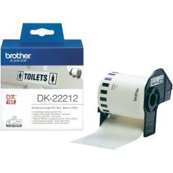 Brother DK-22212  62mm x 15,24m öntapadós fehér folytonos szalagcímke