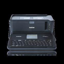 Brother PT-D800W WiFi/USB tükörnyomtatás, TZE/HSE/FLE szalag, fekete címkenyomtató