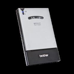 Brother MW-145BT, mono, A7, 300x300dpi, Bluetooth/USB szürke-fekete mobil nyomtató