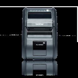 Brother RJ-3150 203dpi, WiFi/Bluetooth/USB fekete hordozható címke és blokknyomtató