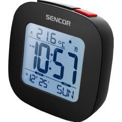 SENCOR SDC 1200 fekete rádiós ébresztő óra