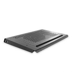 4World 7''-10.2'' fekete alumínium Notebook hűtőpad