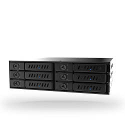 Chieftec CMR-625, 6x 2.5'' SATA merevlemez ház