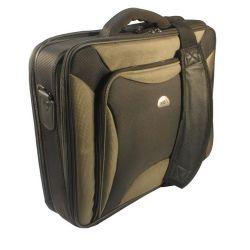 Natec Pitbull 17,0'' fekete-oliva notebook táska