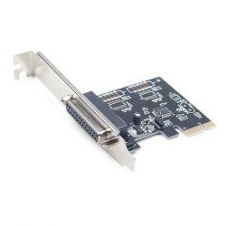Gembird 1xPárhuzamos port PCI-E kártya
