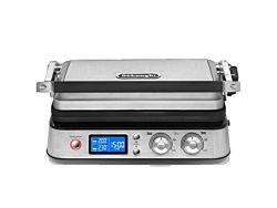 Delonghi CGH 1020D MultiGrill 220-240 V / 50-60 Hz, 2000 W ezüst-fekete elektromos grillsütő