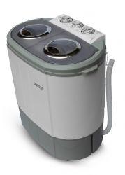 Camry CR 8052 fehér-szürke centrifugás mini mosógép