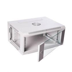 Digitus 19'' 6U 600x450 RAL7035 fali szekrény