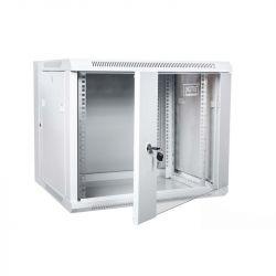 Digitus DN-WD19 09U/550 kétszekciós 19'' 9U 600x550 RAL7035 fali rack szekrény