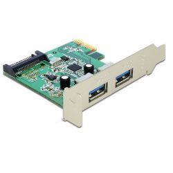 Delock PCI Express Card - 2 x USB 3.0 portbővítő