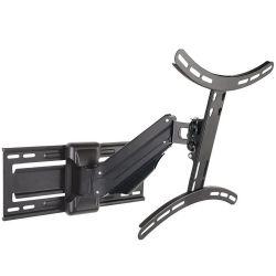 ART AR-71 LCD/LED 23-55'' 25kg függőleges/vízszintes gázrugós fekete fali konzol