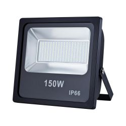 ART AC80-265V, LED, 150W, SMD, IP66, 4000K fekete kültéri lámpa