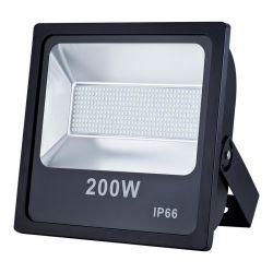ART 200W, IP66, AC80-265V, 6500K fekete kültéri LED lámpa