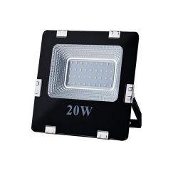 ART LED 20W,SMD,IP65, AC80-265V, 6500K-CW fekete kültéri lámpa