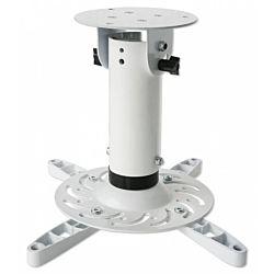 Techly 22274 |20 cm, 15 kg, fehér mennyezeti projektor tartó