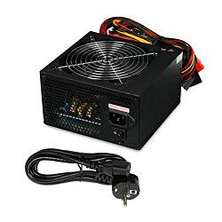 IBOX CUBE II ATX 600W APFC 12 CM FAN BLACK EDITI tápegység