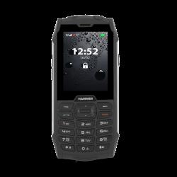 "myPhone Hammer 4 64 MB 2.8"" Single Sim IP68 2G fekete-ezüst mobiltelefon"