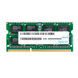 Apacer DDR3 4GB 1600MHz CL11 SODIMM 1.5V memória