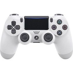 Sony PlayStation 4 Dualshock 4 v2 fehér vezeték nélküli kontroller