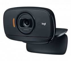 Logitech C525 HD 8.0 MP USB fekete webkamera