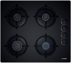 Bosch POP6B6B10 7400W 4-zónás beépíthető fekete gáz főzőlap