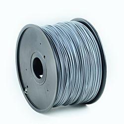 Gembird ABS | Ezüst | 1,75mm | 1kg filament