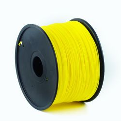 Gembird ABS / Sárga /  1,75mm / 1kg filament