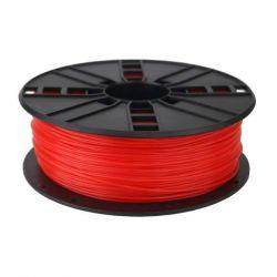 Gembird PLA / Fluoreszkáló piros / 1,75mm / 1kg filament