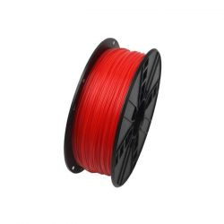 Gembird ABS / Fluoreszkáló piros / 1,75mm / 1kg filament