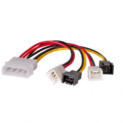 Akyga Molex/2 x 3-pin 12V/2 x 3-pin 5V 15cm AK-CA-34 kábel
