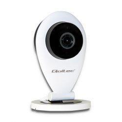 Qoltec 50226 | HD | IR | WiFi | éjszakai/nappali fehér hálózati IP kamera