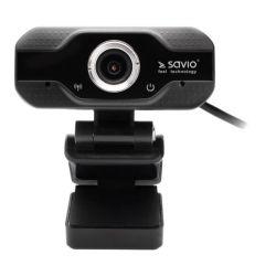 Elmak Savio CAK-01 1920 × 1080, 30Hz, USB fekete webkamera