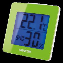 Sencor SWS 1500 GN ébresztőórás időjáráskészülék
