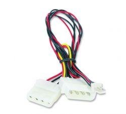 Gembird CC-PSU-5 15 cm belső hálózati adapter kábel 12 V-os hűtőventilátorhoz