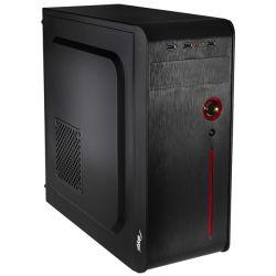 CHS Barracuda, Core i3-9100F 3.6GHz, 8GB, 240GB SSD, DVD-RW, Nvidia GT710 fekete asztali számítógép