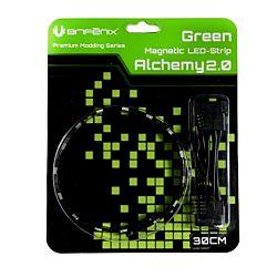 BitFenix Alchemy 2.0 Mágneses 60cm 30 LED Zöld LED Szalag