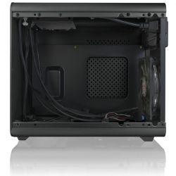 Raijintek Metis Plus ITX Fekete Ablakos számítógépház