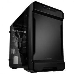 Phanteks Enthoo Evolv ITX Edzett üveg RGB Fekete Számítógépház