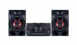 LG CK43 fekete/piros Mikro Hifi
