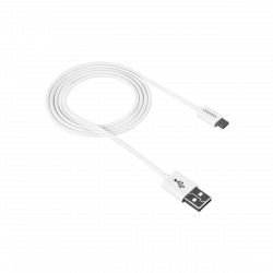 CANYON CNE-USBM1W Micro USB - USB 2.0, 1 m fehér kábel