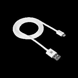 CANYON CNE-CFI1W Lightning - USB A, 1 m fehér kábel