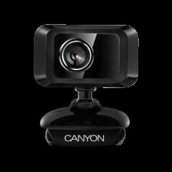 CANYON CNE-CWC1 0.3 MP, USB 2.0, 40 fokos látószög fekete webkamera
