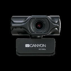 CANYON CNS-CWC6N 3.2 MP, USB 2.0, 30 fps fekete webkamera