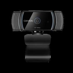 CANYON CNS-CWC5 1920x1080, 2.0 MP, USB 2.0 fekete webkamera