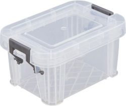 ALLSTORE 0,2 l átlátszó műanyag tárolódoboz